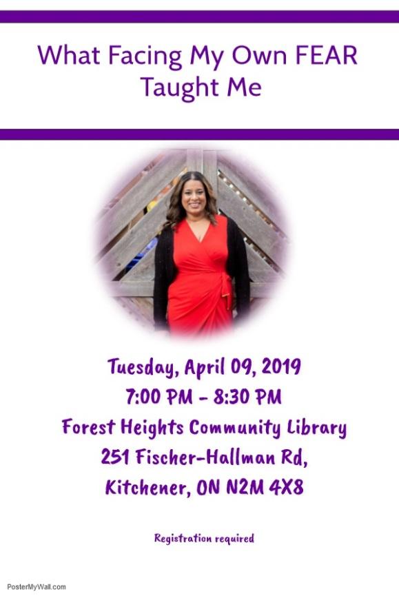 April 9, 2019 Talk Poster