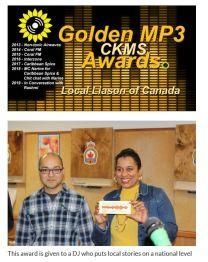 mp3 awards